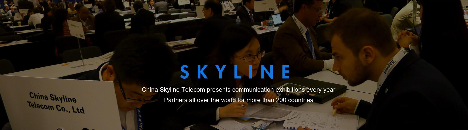 CHINA  скайлайн Телеком